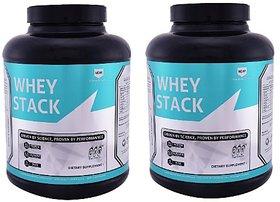Greenex Nutrition Whey Stack 4.5lb Milk Masala Pack Of