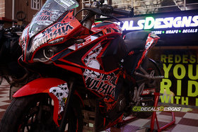 CR Decals PULSAR RS 200 Custom Decals/Stickers Full Body METAL MULISHA LIMITED EDITION Kit