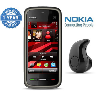 Nokia 5233/ Good Condition/ Certified Pre Owned (1 Year Warranty) with Mini Bluetooth