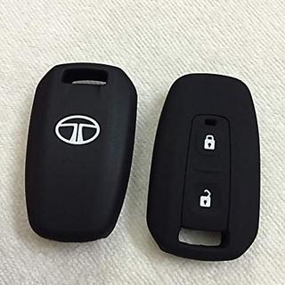 Autonext Silicone Key Cover For Tata Manza / Vista / Indigo Remote Key (2 Button)