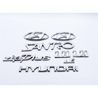 Hyundai Santro Zip 1.1L Monogram Logo Emblem Kit