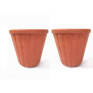 Real Organic Medium Clay kulhad/Tea Cup/Coffee Cup (2 pcs)