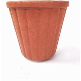 Real Organic Medium Clay kulhad/Tea Cup/Coffee Cup (8 pcs)