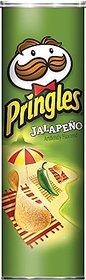 Pringles Jalapeno Flavoured Potato Chips, 158 grams
