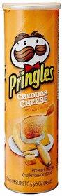 Pringles Potato Crisps - Cheddar Cheese, 158g