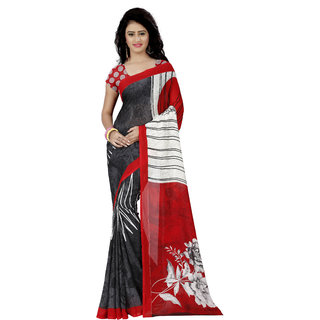 Anand Sarees Printed Fashion Faux Georgette Saree