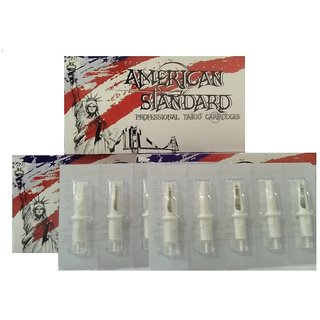 American Standard Tattoo Cartridge Needles (Box of 20) (1213M1 (Magnum))