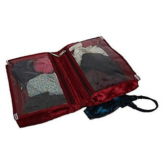 Kuber Industries™ Undergarments Kit In Heavy Quilted Satin