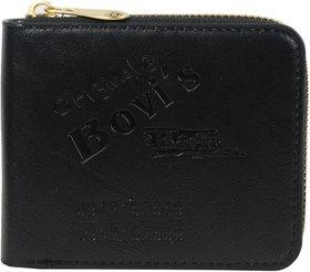 New Super Attractive Bovi's Black wallet for Men's and Boy's