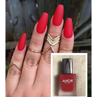 Juice Red Matte Nail Polish