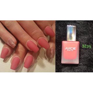 Juice Pink Coral Matte Nail Polish M-29
