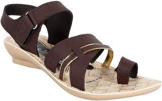 Earton Women/Girls Brown-1059 Sandals