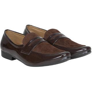 Rimoni Men's Brown Loafers