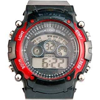 7LR Sports Multi Color Lights Digital Watch