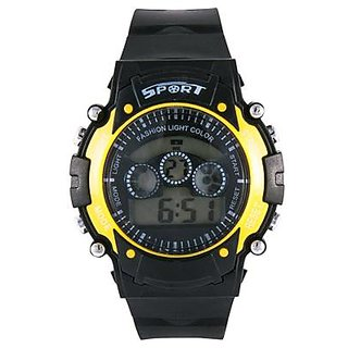 SK  Sports Digital 7 Lights Watch for Kids/Boys/Girls -Good Return Gift