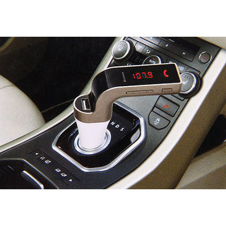 Favourite Deals Carg7 Music Streaming Support, Call Receiving Car Charger