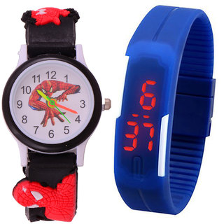 S S TRADERS - Kids Multi colour cute watch high qulaity and  Excellent return Gifts - Kids Favorate 127893432