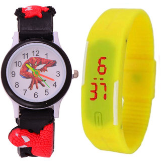 S S TRADERS - Kids Multi colour cute watch high qulaity and  Excellent return Gifts - Kids Favorate 127893431