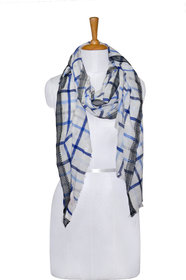knot me check Printed cotton Women's Scarf
