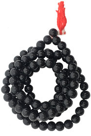 Ever Forever Kali Hakik Mala or Black Agate (108+1) Beads For Chanting and Wearing