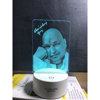 Guru Ji 7 Color Changing Led With Touch Panel