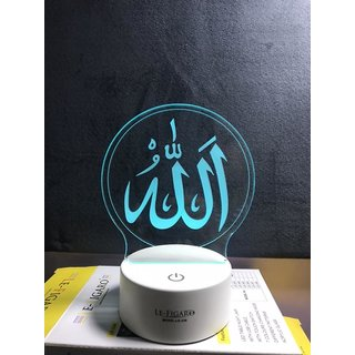 Allah 7 Color Changing Led With Touch Panel