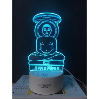Mahavir 7 Color Changing Led With Touch Panel