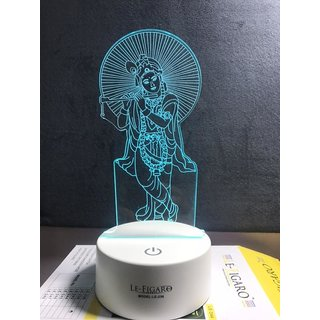 Krishna 7 Color Changing Led With Touch Panel