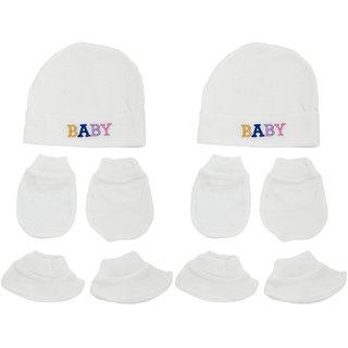 aabe9f07d7d8 Buy Neska Moda Baby Mittens Booties with Cap Set 6 Pcs Combo 0 To 6 ...