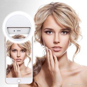 TOTU Rechargeable Selfie Ring Light, Selfie Light 36 LED Spotlight Flash Selfie Light Ring Camera Photo Video Light Lamp