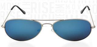 Fast Fox Blue Aviator Sunglasses