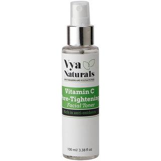 Vitamin C Pore Tightening Facial Toner 100ml By Vya Naturals