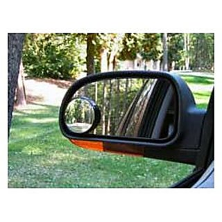 circle mirror for bike and cars set of two pc for ( left right mirror )
