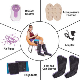 Kawachi Slimming Air Pressure Massager for Leg  Thigh Massage Weight Loss Air Compression Wrap