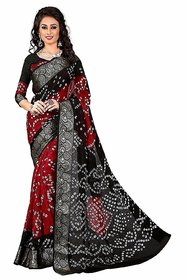 Florence Multi Bhagalpuri Saree With Blouse