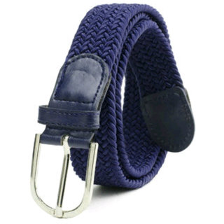 Styles Creation Women's Blue Stylish Elastic Stretchable Belt (BELTLD16)