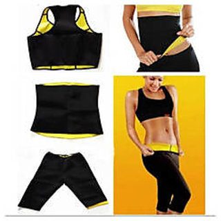 36e7db0874a Buy Slimming Shapewear - HOT SHAPER SUIT- Tops   Belt  Pants(Set of ...
