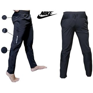 Nike Black Lycra Track pant Dryfit