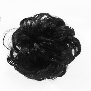 GaDinStylo Set of 2, Funky Clutcher, Black Hair Extension Hair Accessory Set (Black)