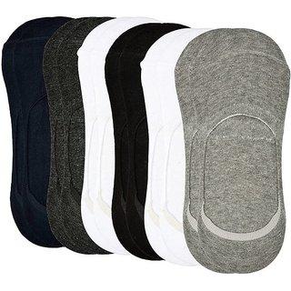 Zeeko Plain Print No Show Loafer Socks (Pack-3)