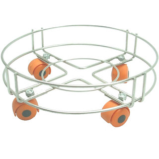 Stainless Steel Cylinder Trolley by KS