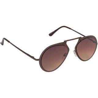 99c8c298ce1 Arzonai Urbane Aviator Brown-Brown UV Protection Sunglasses For Men   Women   MA-