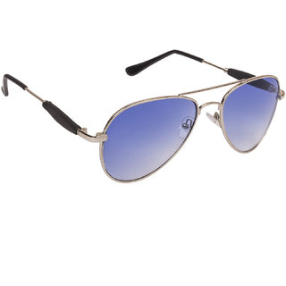 f09e228e052 Buy Arzonai Classics Aviator Silver-Blue UV Protection Sunglasses For Men    Women  MA-555-S4   Online - Get 79% Off