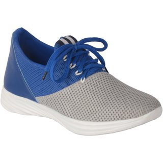 Running Rider Men's Casual Sneaker Blue Gray Shoes