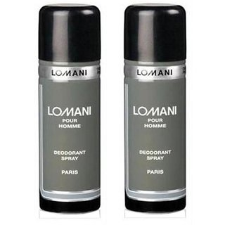 Combo of 2 Lomani Deodorant Men 200ml