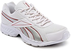 Reebok White Mesh Running Shoes For Men