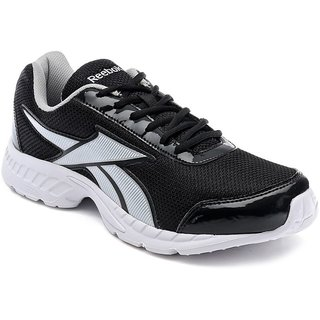 Reebok Mens Black Running Shoes