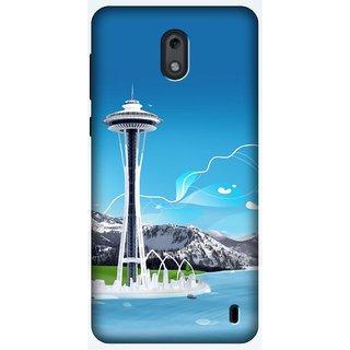 Designer Printed Case/Cover for Nokia 2 / Quotes/Messages/[Hybrid][Slim-fit][Shock Proof]Back Case/Cover for Nokia 2 (Design 001504