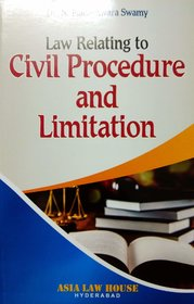 Law Relating to Civil Procedure and Limitation