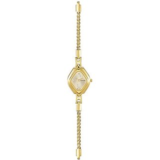 Sonata Analog Gold Dial Womens Watch-87010YM02
